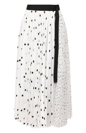 Женская юбка SACAI белого цвета, арт. 20-05066 | Фото 1