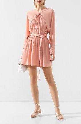 Женское платье с поясом N21 розового цвета, арт. 20E N2S0/H051/5A10 | Фото 2
