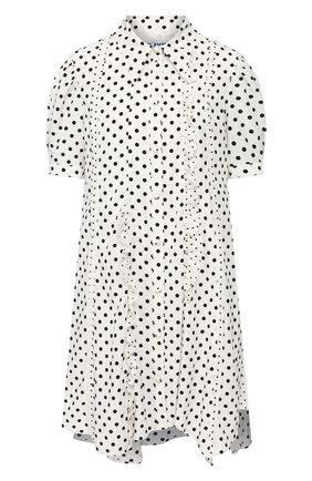 Женское платье в горох STEVE J & YONI P черно-белого цвета, арт. PW2A3W-0P120W   Фото 1