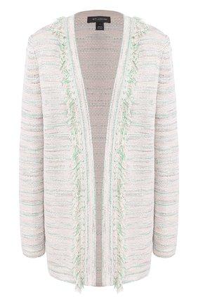 Женское пальто из смеси вискозы и шерсти ST. JOHN светло-зеленого цвета, арт. K61Z0J2 | Фото 1