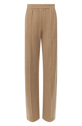 Женские хлопковые брюки RAG&BONE коричневого цвета, арт. WAW20S70112P11   Фото 1