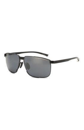Мужские солнцезащитные очки PORSCHE DESIGN черного цвета, арт. 8680-A | Фото 1