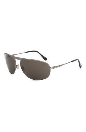 Женские солнцезащитные очки TOM FORD серого цвета, арт. TF771 16V | Фото 1