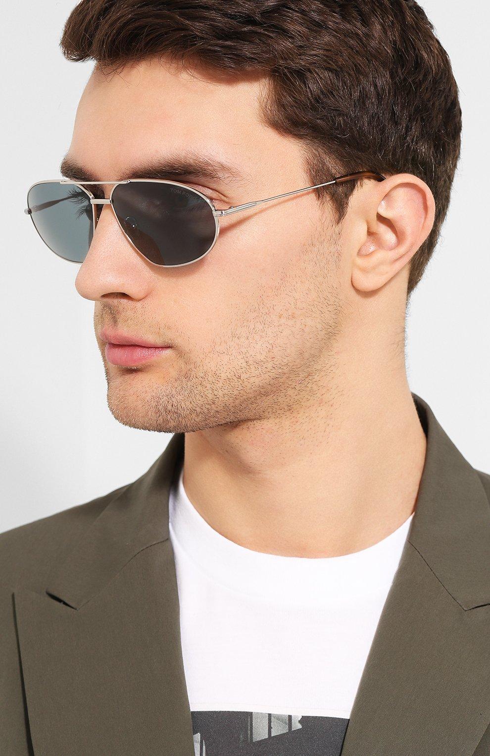Женские солнцезащитные очки TOM FORD серого цвета, арт. TF771 16V | Фото 2