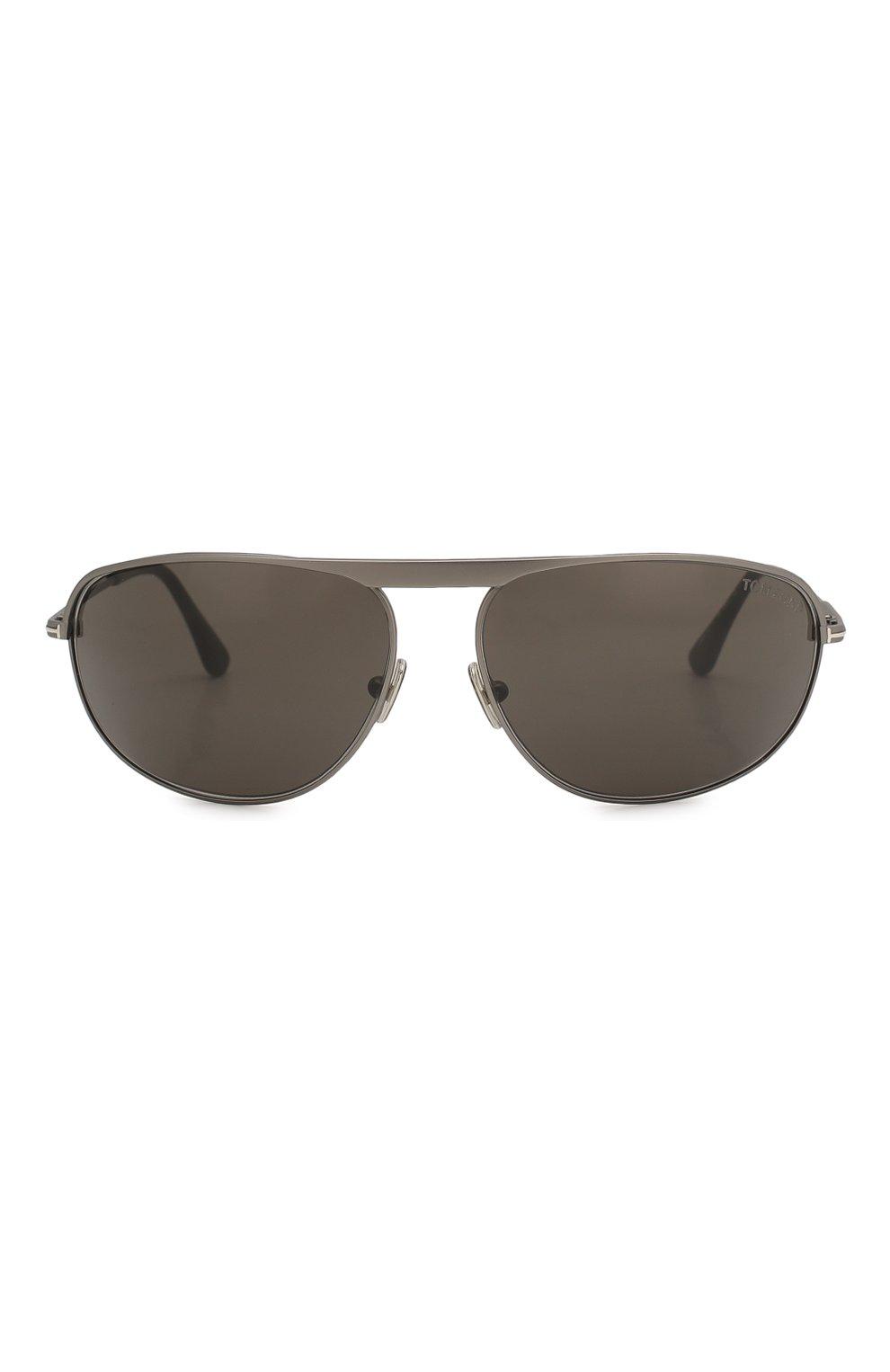 Женские солнцезащитные очки TOM FORD серого цвета, арт. TF771 16V | Фото 3