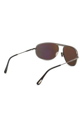 Женские солнцезащитные очки TOM FORD серого цвета, арт. TF771 16V | Фото 4