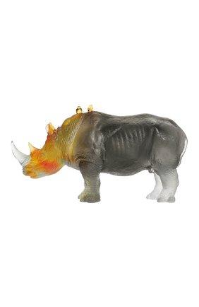 Мужская скульптура носорог DAUM разноцветного цвета, арт. 03400-1 | Фото 1