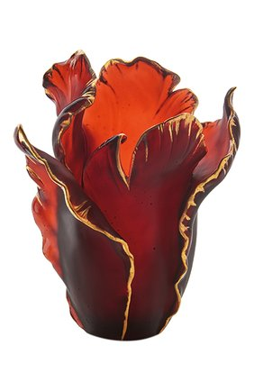 Мужского ваза tulip  DAUM красного цвета, арт. 03574-11 | Фото 1