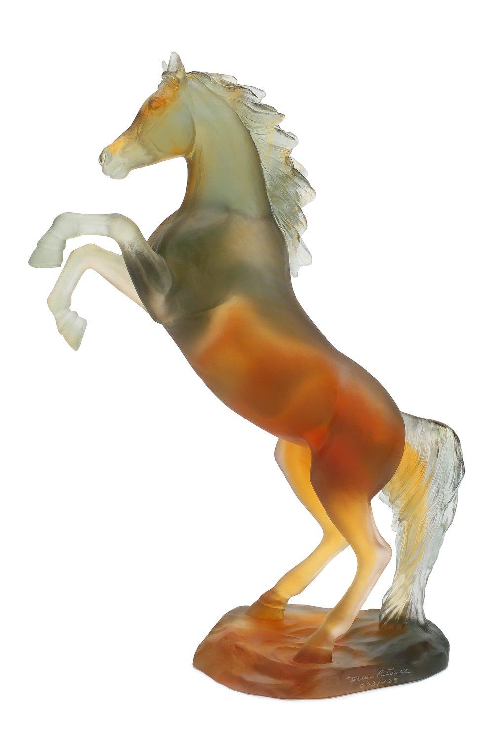 Мужского скульптура spirited horse DAUM разноцветного цвета, арт. 05585-2 | Фото 1