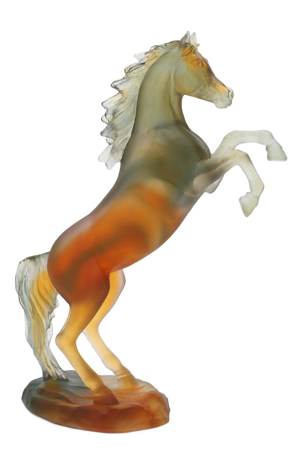 Мужского скульптура spirited horse DAUM разноцветного цвета, арт. 05585-2 | Фото 2