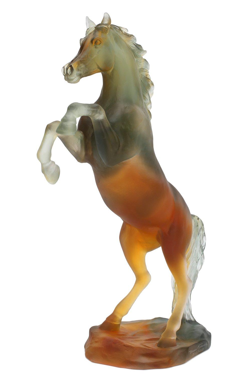 Мужского скульптура spirited horse DAUM разноцветного цвета, арт. 05585-2 | Фото 3