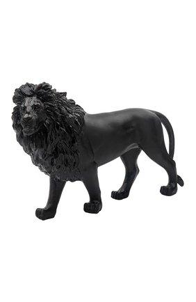 Мужская скульптура песчаный лев DAUM черного цвета, арт. 05562-1 | Фото 1