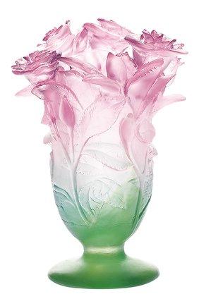 Мужского ваза  roses DAUM разноцветного цвета, арт. 03507 | Фото 1