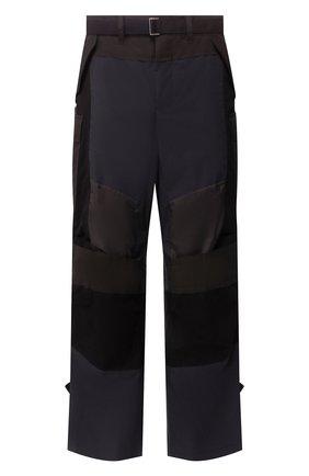 Мужской брюки SACAI разноцветного цвета, арт. 20-02219M   Фото 1