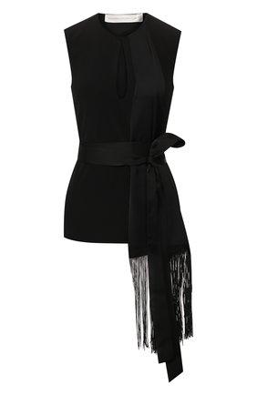 Женская топ VICTORIA, VICTORIA BECKHAM черного цвета, арт. 2120WTP000750A | Фото 1