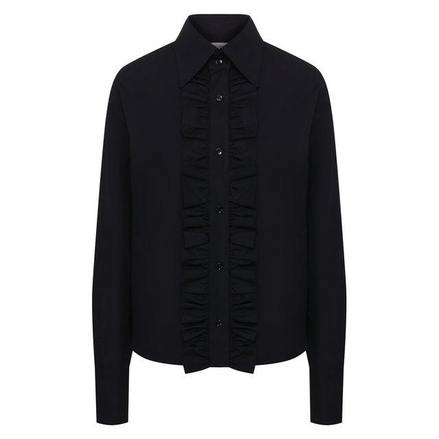 Хлопковая рубашка Saint Laurent