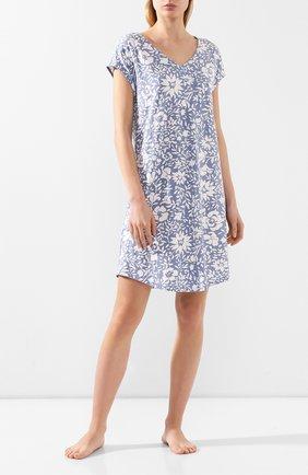 Женская сорочка MEY синего цвета, арт. 16020 | Фото 2
