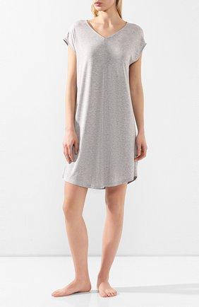 Женская сорочка MEY серого цвета, арт. 16004 | Фото 2