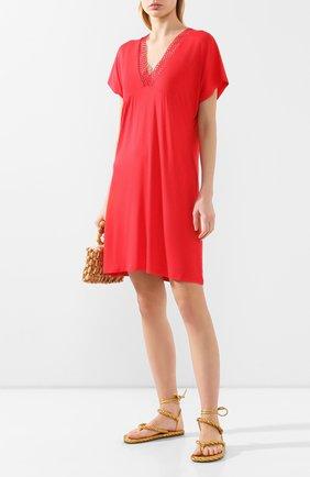 Женское туника ANTIGEL красного цвета, арт. ESA4450 | Фото 2