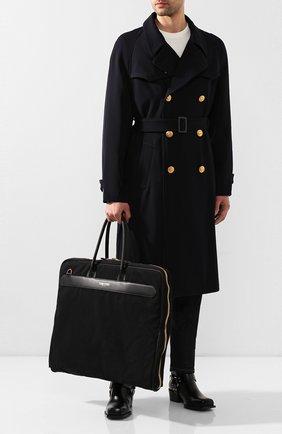 Мужская текстильная дорожная сумка TOM FORD черного цвета, арт. H0408T-TCN005 | Фото 2