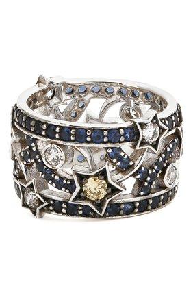Женское кольцо star QUEENSBEE серебряного цвета, арт. 101379/7,94   Фото 2