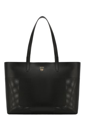 Женская сумка t tote TOM FORD черного цвета, арт. L1285T-ICL002   Фото 1