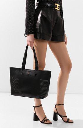 Женская сумка t tote TOM FORD черного цвета, арт. L1285T-ICL002   Фото 2