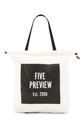 Женский рюкзак 5PREVIEW белого цвета, арт. W500 | Фото 1