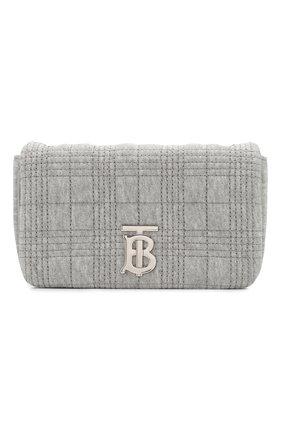 Женская сумка BURBERRY серого цвета, арт. 8027974 | Фото 1