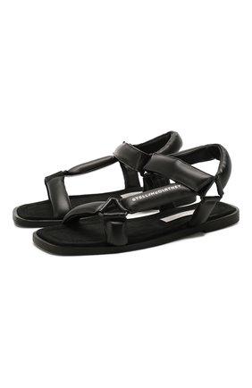 Женские сандалии STELLA MCCARTNEY черного цвета, арт. 800181/N0096 | Фото 1
