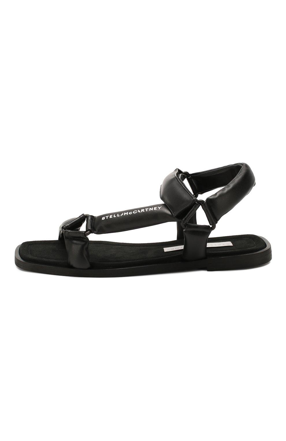 Женские сандалии STELLA MCCARTNEY черного цвета, арт. 800181/N0096 | Фото 3