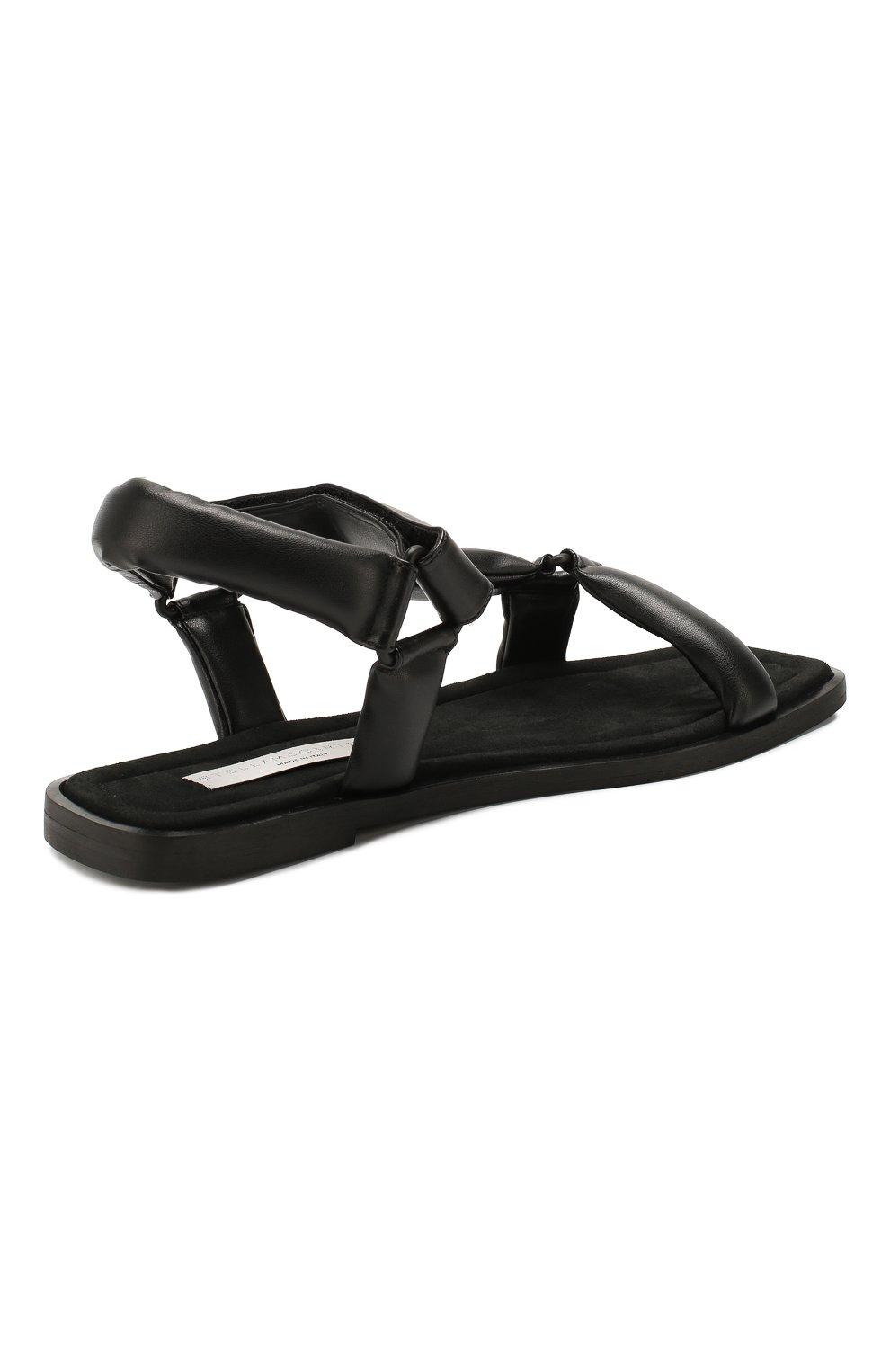 Женские сандалии STELLA MCCARTNEY черного цвета, арт. 800181/N0096 | Фото 4
