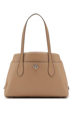 Женская сумка lora COACH бежевого цвета, арт. 88340 | Фото 1