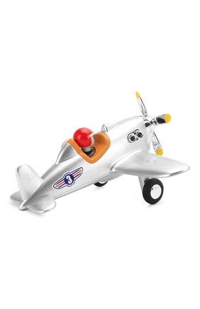 Детского игрушечный самолет BAGHERA серебряного цвета, арт. 485 | Фото 2