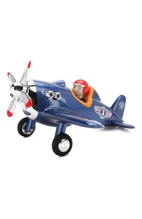 Детского игрушечный самолет BAGHERA синего цвета, арт. 486 | Фото 1