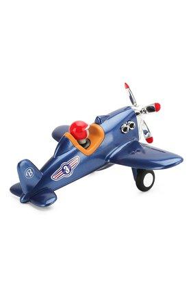 Детского игрушечный самолет BAGHERA синего цвета, арт. 486 | Фото 2