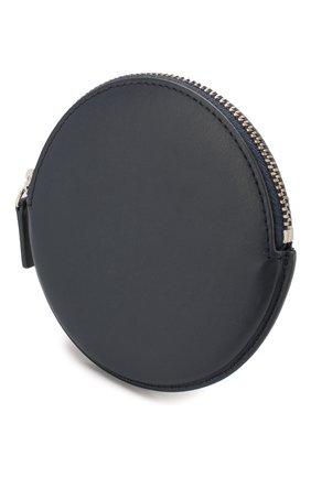Мужской кожаный кошелек для монет le pitchou JACQUEMUS синего цвета, арт. 205AC22/58390 | Фото 3