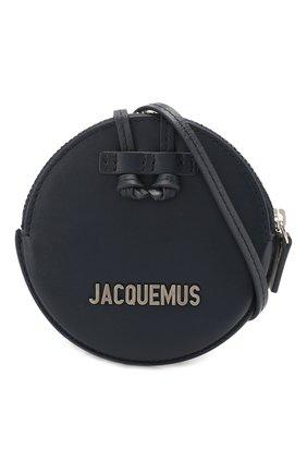 Мужской кожаный кошелек для монет le pitchou JACQUEMUS синего цвета, арт. 205AC22/58390 | Фото 5