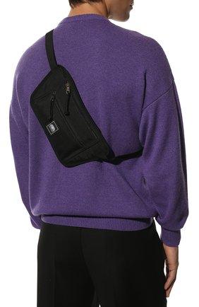 Мужская текстильная поясная сумка BALENCIAGA черного цвета, арт. 618190/H75EX | Фото 2