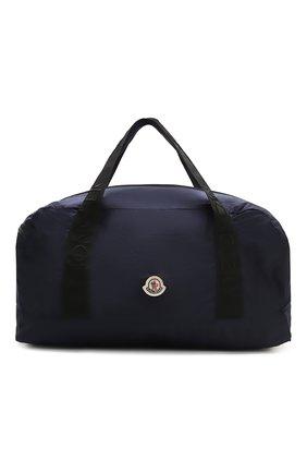 Мужская текстильная дорожная сумка nivelle MONCLER темно-синего цвета, арт. F1-09A-7A700-00-02SCN | Фото 1
