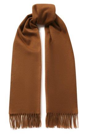 Мужской кашемировый шарф LORO PIANA бежевого цвета, арт. FAB9149 | Фото 1