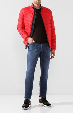 Мужская пуховая куртка BOSS красного цвета, арт. 50427292 | Фото 2