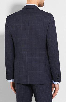 Мужской шерстяной костюм CORNELIANI темно-синего цвета, арт. 857224-0117413/92 Q1 | Фото 3