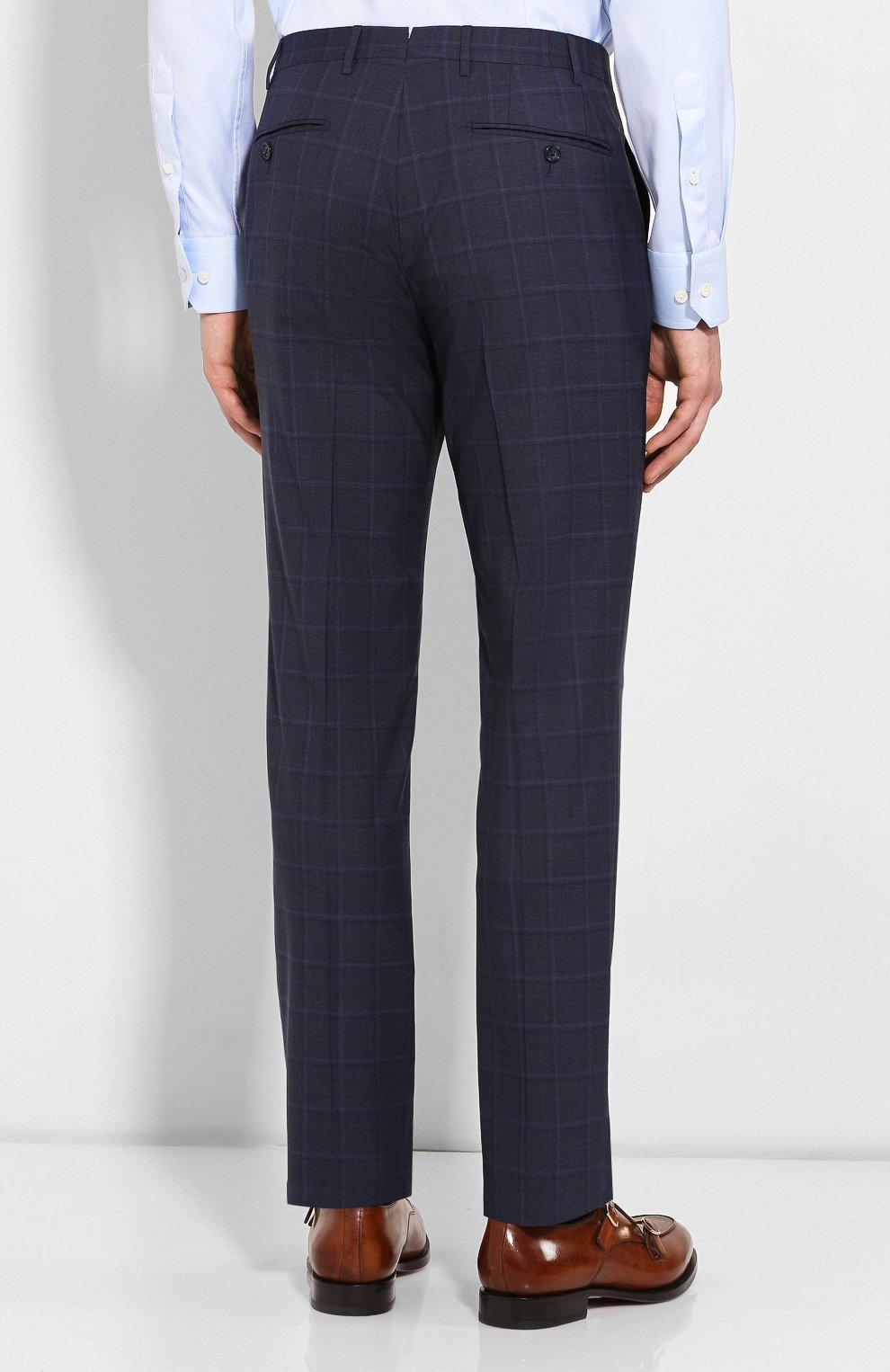 Мужской шерстяной костюм CORNELIANI темно-синего цвета, арт. 857224-0117413/92 Q1 | Фото 5