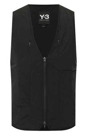 Мужской жилет Y-3 черного цвета, арт. FN3499/M | Фото 1