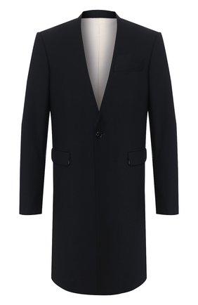 Мужской пальто RAF SIMONS темно-синего цвета, арт. 201-611-25020 | Фото 1