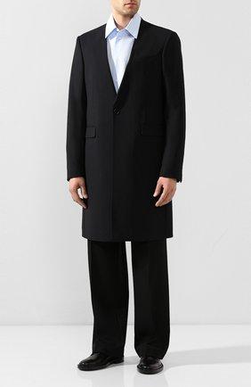 Мужской пальто RAF SIMONS темно-синего цвета, арт. 201-611-25020 | Фото 2