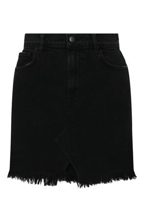 Женская джинсовая юбка J BRAND черного цвета, арт. JB002789/A | Фото 1