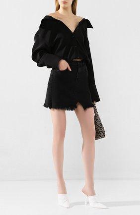 Женская джинсовая юбка J BRAND черного цвета, арт. JB002789/A | Фото 2