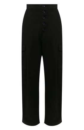 Женские хлопковые брюки J BRAND черного цвета, арт. JB002859 | Фото 1